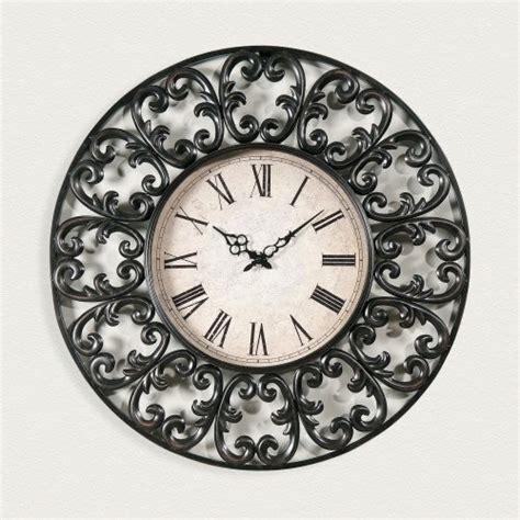 decorative oversized wall clocks antique copper 27 in decorative oversized wall clock