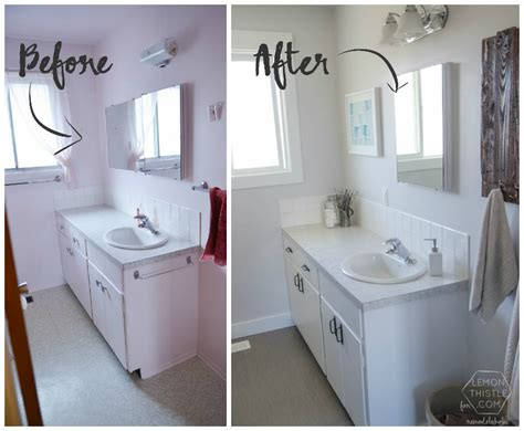 cheapest way to remodel bathroom