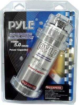 car audio capacitor canada plcape50 pyle 174 5 0 farad digital power capacitors car audio capacitors forest city surplus