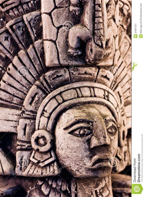 imagenes de esculturas mayas famosas mayan sculpture royalty free stock photography image