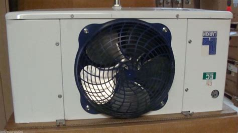 walk in cooler fan new larkin air defrost 1 fan walk in cooler evaporator
