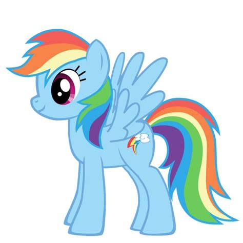 25 best ideas about rainbow dash cake on my