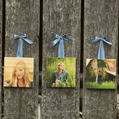 Photoboard Set 3 unique personalized photo gifts