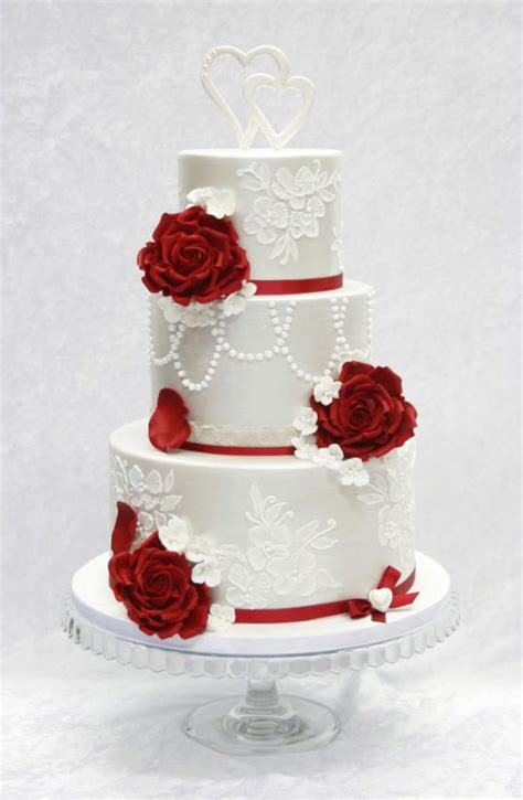 Hochzeitstorte Rot by 1000 Images About Wedding Cakes White On