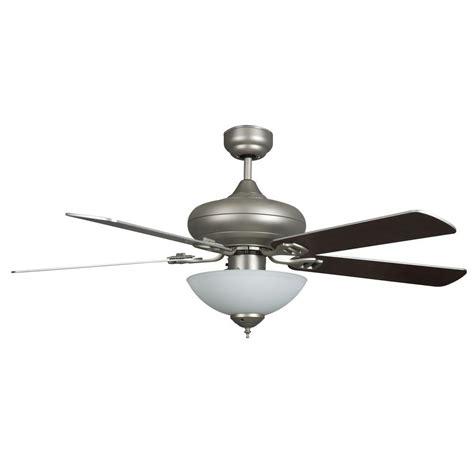 high tech ceiling fan radionic hi tech valley 52 in satin nickel ceiling fan
