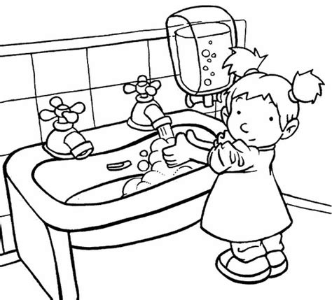 hand washing coloring pages hand washing coloring page az coloring pages