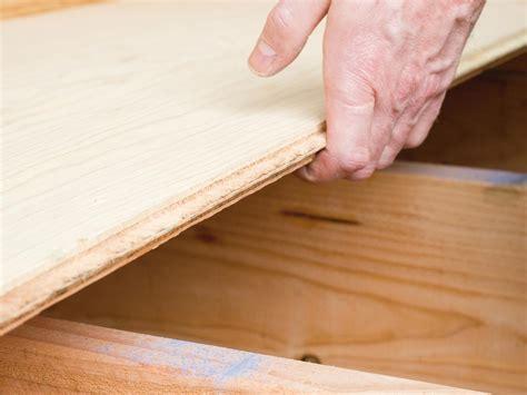 laying a plywood subfloor flooring ideas installation