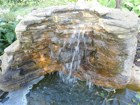 backyard water falls landscape waterfalls pool pond backyard rock waterfalls