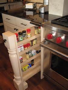 The Range Spice Rack Pull Out Spice Racks On Either Side Of The Range