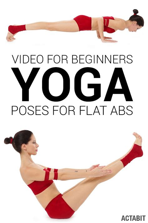 yoga poses  flat abs video workout  beginners