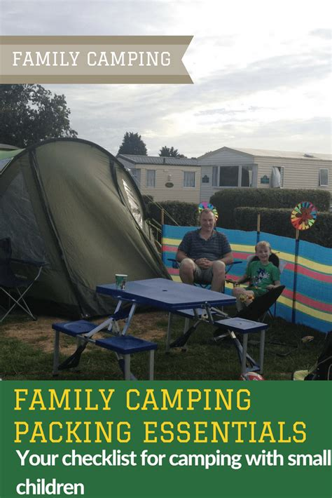 Cabin Cing Checklist by Family Packing Essentials Family Cing Packing List