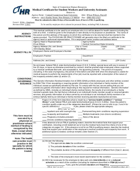 sle medical certificate for sick leave 6 exles in