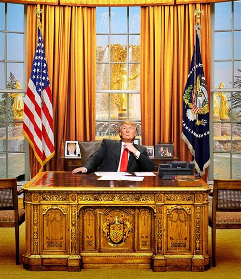 trump oval office desk what a trump white house actually looks like