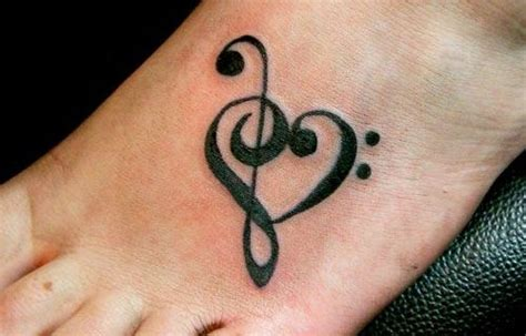 simple music tattoo designs simple 543e7452cd0de cool simple tattoos for