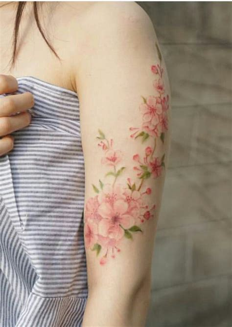 cherry blossom watercolor tattoo best 25 ideas on cherry blossom