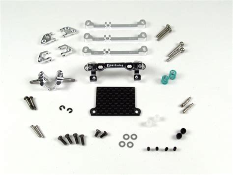 Pn Racing Mr3050ds Mini Z Mr03 A Arm Knuckle Silver pn racing mini z v3 mr03 pnr2 5w a arm front suspension silver