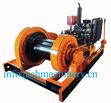 boat engine winch 10ton diesel engine anchor winch for marine use buy