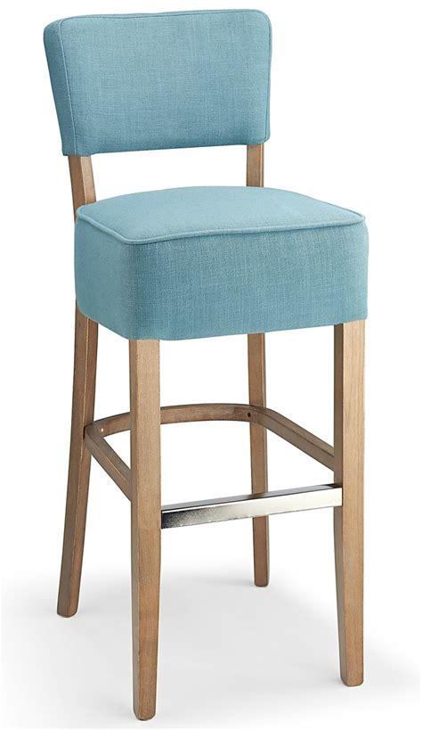 Teal Fabric Bar Stools by Genova Fabric Bar Stool Teal