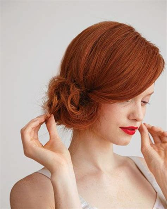 mahogany side bun hair 73 best copper colours images on pinterest hair color