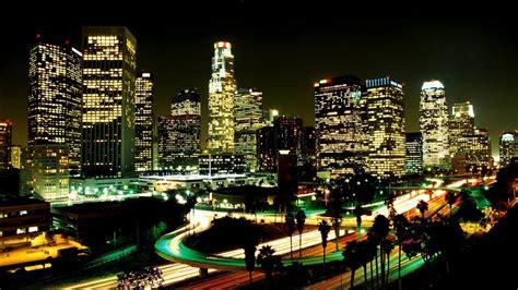 los angeles city lights wallpaper los angeles