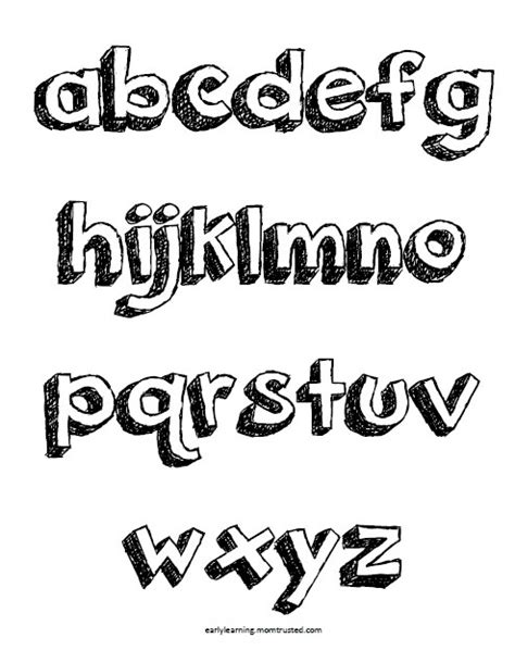 printable pop up letters pop up letters alphabet coloring pages uppercase and