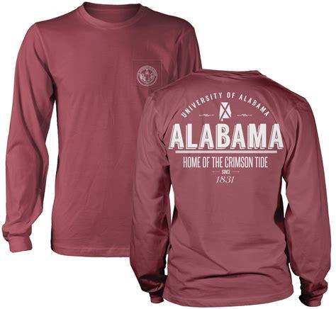 alabama comfort colors alabama state retro comfort colors sleeve pocket