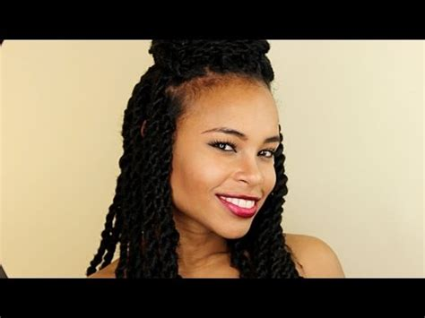 pictures of twisting 11 easy senegalese twists hairstyles natural hair