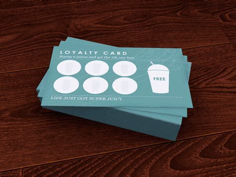 Loyalty Card Design Template by 25 Best Ideas About Loyalty Card Design On
