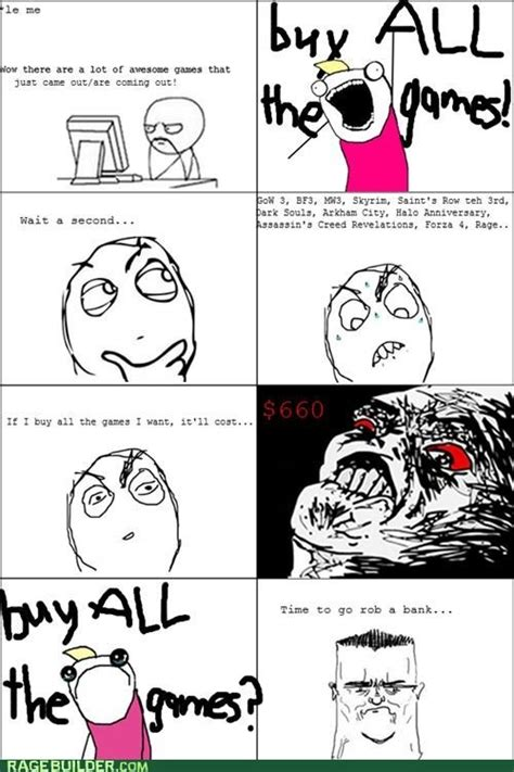 Funny Rage Meme - lol meme rage comics