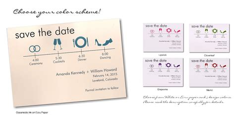 Save The Date Timeline Template save the date cards templates for weddings