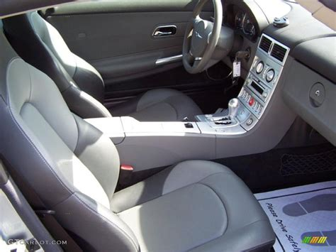 2004 Chrysler Crossfire Interior by Slate Gray Medium Slate Gray Interior 2004 Chrysler