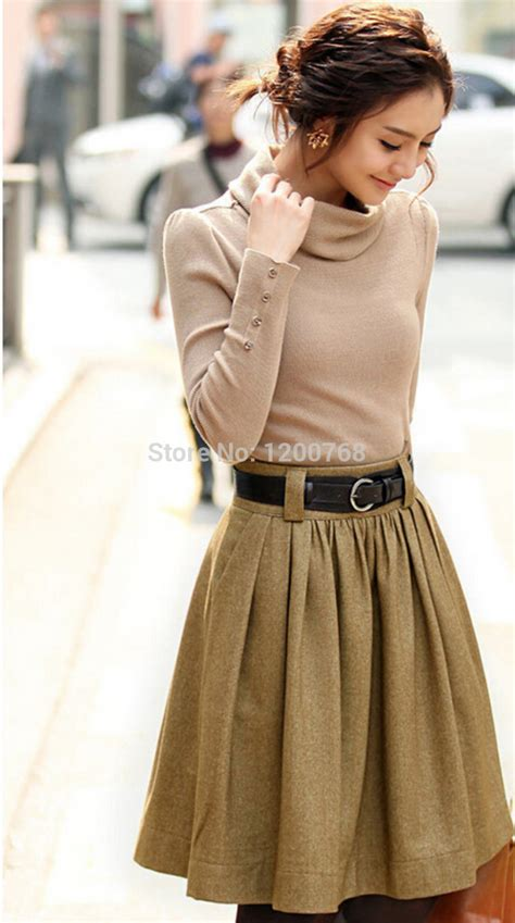 winter skirts new 2014 skirts fashion ol pleated