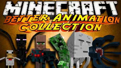 minecraft better animations mod minecraft mod showcase better animation collection