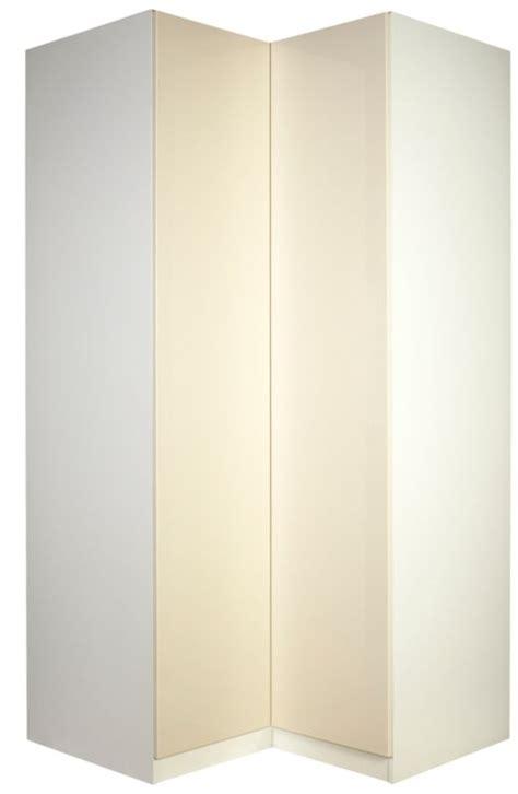 White Gloss Corner Wardrobe designer corner wardrobe white and vanilla gloss review compare prices buy