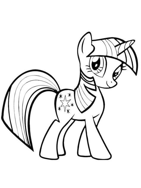 Mewarnai Kuda Poni Rainbow Dash - B Warna
