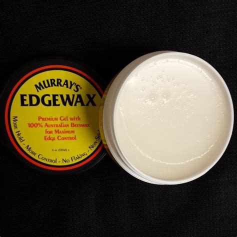 Pomade Happy murray s edgewax is happy to be back in stock gel w australian beeswax no flaking don t