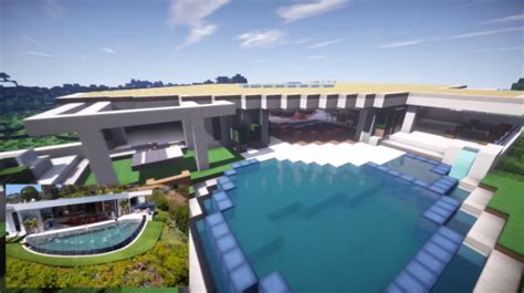 notch minecraft house notch s 70 million la mansion recreated in minecraft