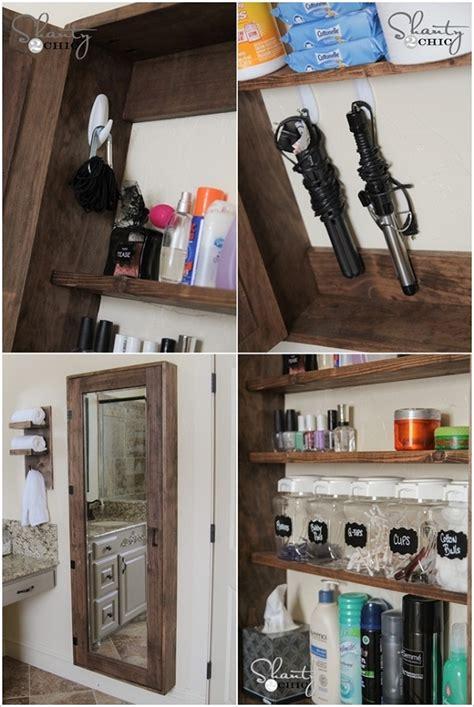 bathroom mirror with storage how to make mirror storage home design garden architecture magazine