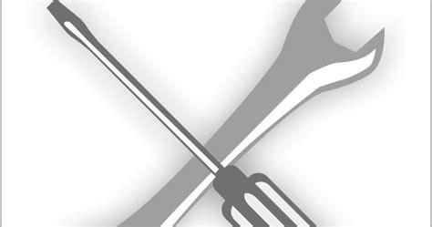 Obeng Dan Tang culek design logo tang dan obeng free vector