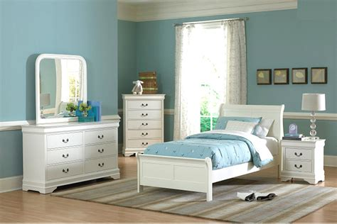 White Twin Bedroom Furniture | white twin bedroom set he539 kids bedroom