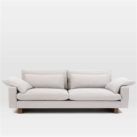 west elm sofa bed harmony sofa 92 quot west elm