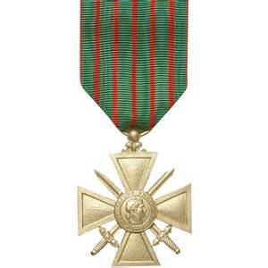 m daille ordonnance croix de guerre 14 18   croix de guerre 14 18