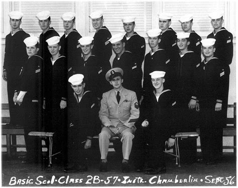 Clss Basic Tb 2b imperial ct school basic class 2b 57 r sept 1956 instructor ctc chamberlin