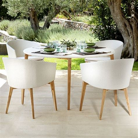 white patio dining table and chairs white patio dining table and chairs portside 5 wicker