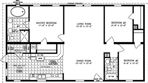 1200 To 1399 Sq Ft Manufactured Home Floor Plans 1200 Square Foot Stilt House Plans