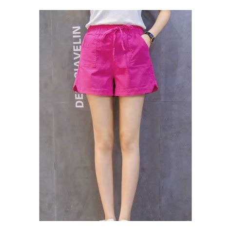 Celana Wanita Overall Pendek celana pendek wanita t3337 moro fashion