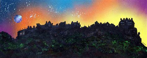 spray painting edinburgh paintings prints of edinburgh stirling the lothians