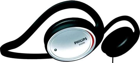 Philips Shs 390 98 electronics portable audio earphones headphones philips shs390 98 neckband headphone
