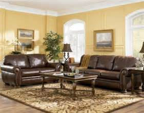 Color Schemes For Living Room With Brown Furniture Living Room Decorating Ideas With Brown Leather Furniture Greenvirals Style