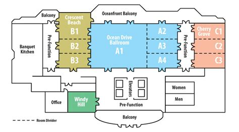 event floor plans myrtle beach events floor plans for grand strand meeting